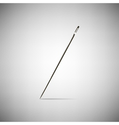 needle for sewing vector image
