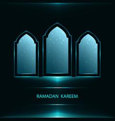Ramadan greeting card vector