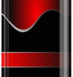 Red background grey line background design vector