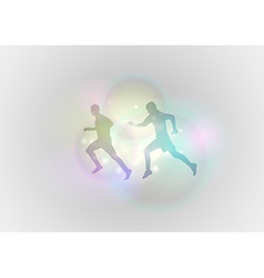 Sport abstract run vector
