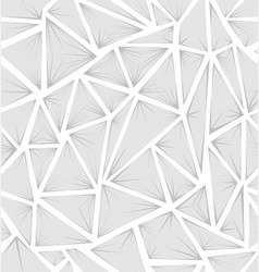 structure of triangles with rays vector image vector image