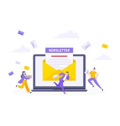 Subscribe now to our newsletter vector