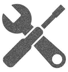 Tools Grainy Texture Icon vector