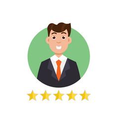 feedback user customer reviews concept vector image