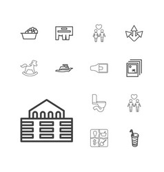 13 icons icons vector