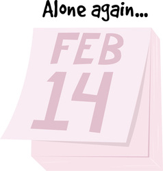 Alone Again vector