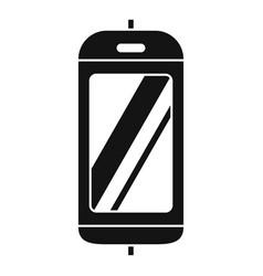 Cabine elevator icon simple style vector