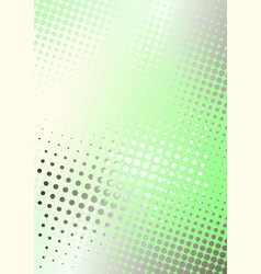 green dots poster background vector image