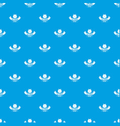 old saber pattern seamless blue vector image