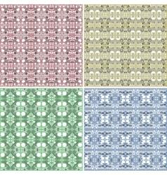 Seamless Colorful background Collection vector image