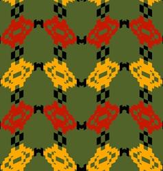 Tribal Mexico seamless texture vector image