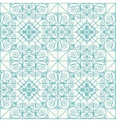 Geometric seamless ethnic background vector