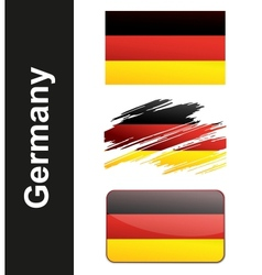 Flag Germany vector image vector image