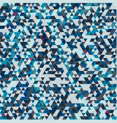 blue triangle texture vector image