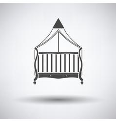 Cradle icon vector image