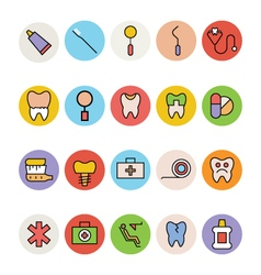 Dental Icons 3 vector