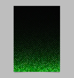 green dot pattern brochure background vector image