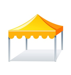 Icon event tent vector