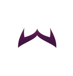 letter w logo design concept template vector image