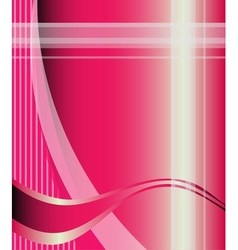 Pink Background with message board for text vector image