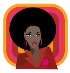 soul babe vector image vector image