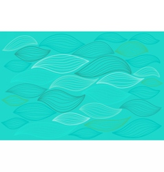 Sea waves Elements for design vector image
