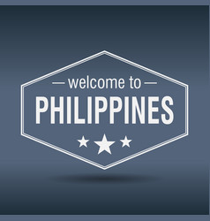 welcome to philippines vector image