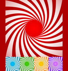 Abstract spirally backgrounds twisted rotating vector
