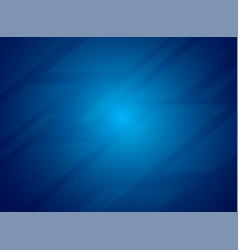Blue abstract tech geometric modern background vector
