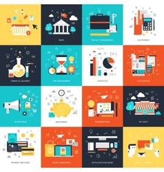 Business concepts vector image