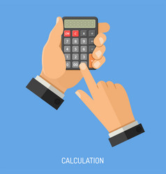 Calculation and counting concept vector