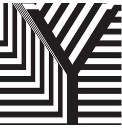 letter y design template vector image