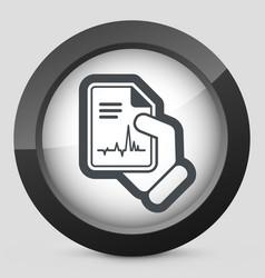 Medical diagnosis vector