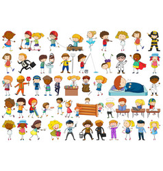 Set simple characters vector