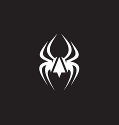 Spider logo icon design vector