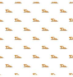 summer woman sandal pattern seamless vector image