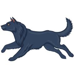 Wolf running vector