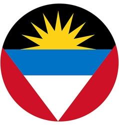 Antigua and Barbuda flag vector image vector image