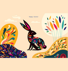 bunny3 vector image