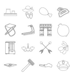 Fitness fishing history and other web icon in vector
