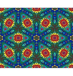 Kaleidoscope color seamless pattern vector