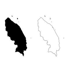terengganu map vector image