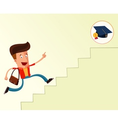 To the graduation vector