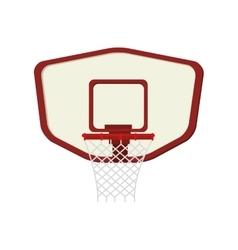 hoop net basketball vector image vector image