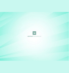 abstract geometric white and mint blue diagonal vector image