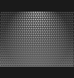 background metal grid vector image