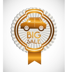 cars on sale vector image