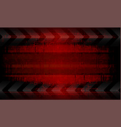 Dark red background with many arrows silhouettes vector