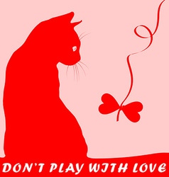 Dont play with love vector