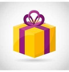 gift christmas vector image